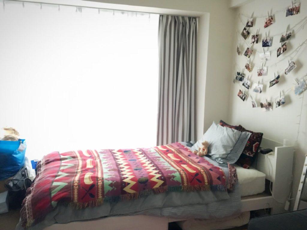 BEFOREベッド周り横写真