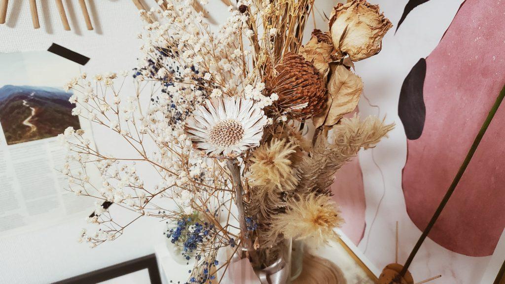 ドライフラワー花瓶