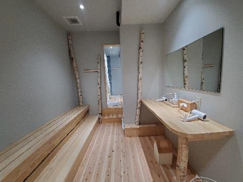シャワールーム|サウナラボ福岡