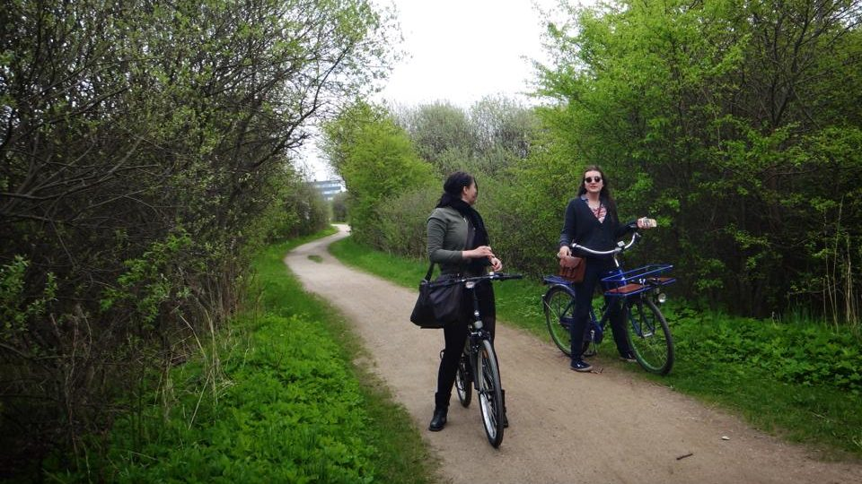 コペンハーゲン自転車旅
