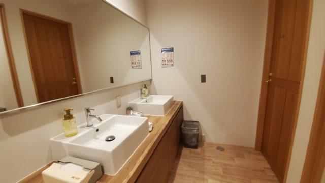 HafH Fukuoka THE LIFE女性半個室客室バスルーム