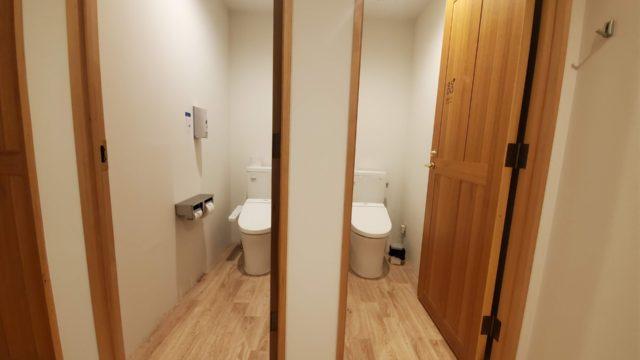 HafH Fukuoka THE LIFE女性半個室客室トイレ