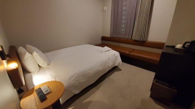 ネストホテル広島駅前ロビー客室夜