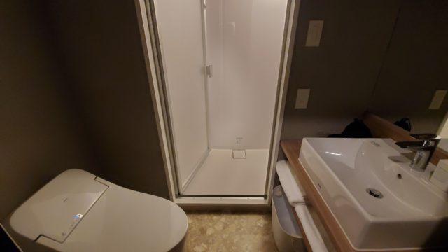 ネストホテル広島駅前バスルーム